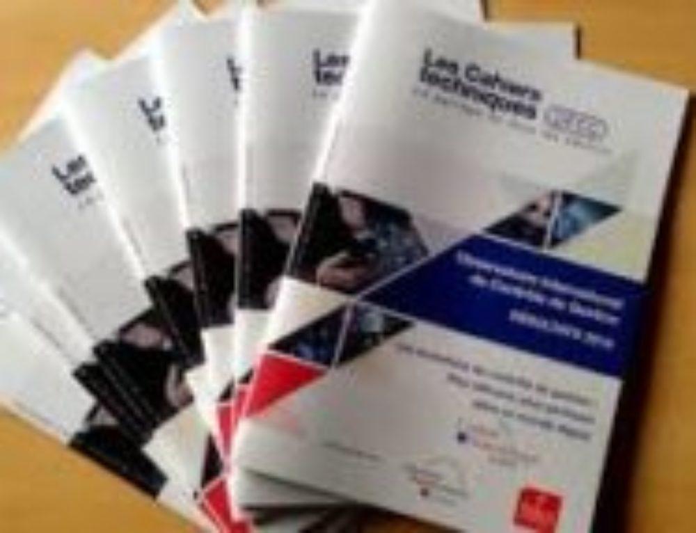 Cahiers Techniques Observatoire International du Contrôle de Gestion : Résultats 2017