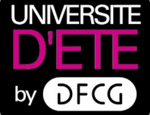 DPC sponsor de la 10ème édition de l'Université d'été by DFCG le 4 juillet à Lyon